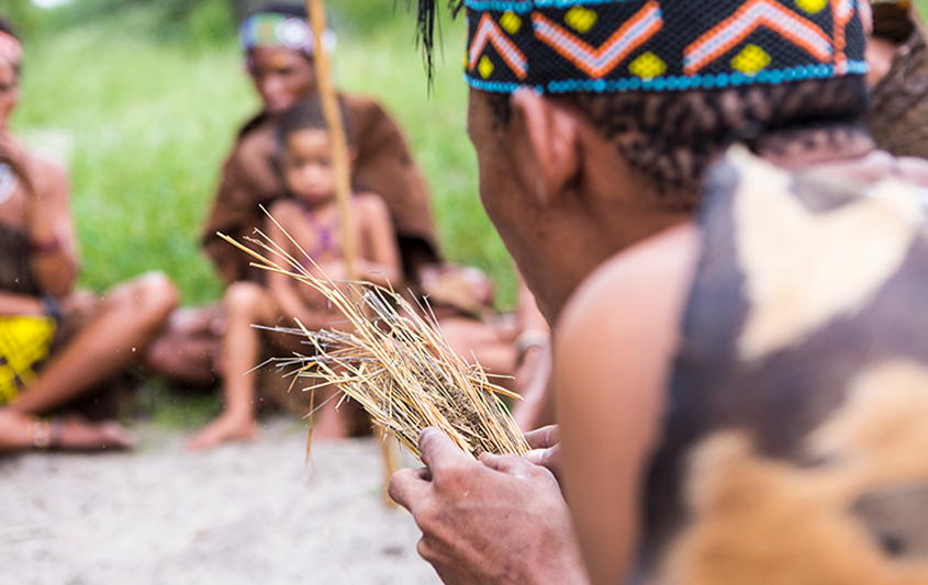 As formas de morar e de viver dos indígenas