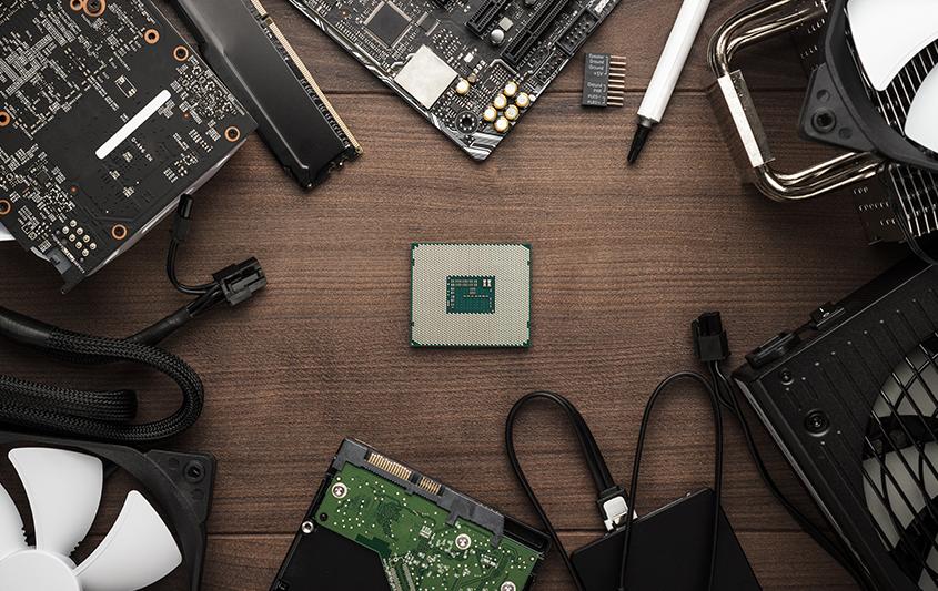 Os principais componentes de um computador